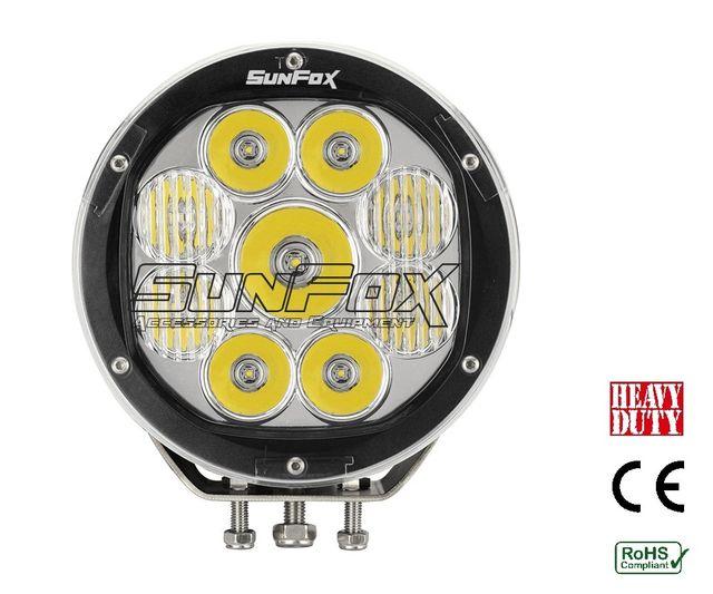 LED kaukovalo 90W 7200lm 7''